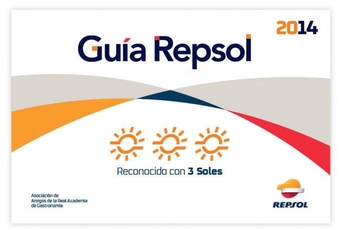 Tres soles Repsol