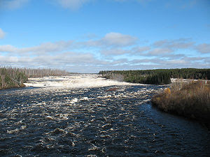 The Rupert River. This is one of the largest r...