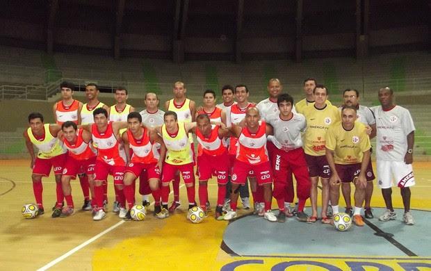 Equipe do América-RN vai disputar a divisão especial da Taça Brasil de Futsal (Foto: Jocaff Souza)