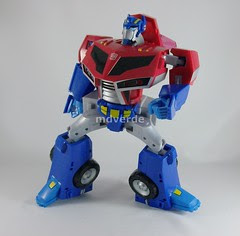Transformers Optimus Prime Animated - modo robot (by mdverde)