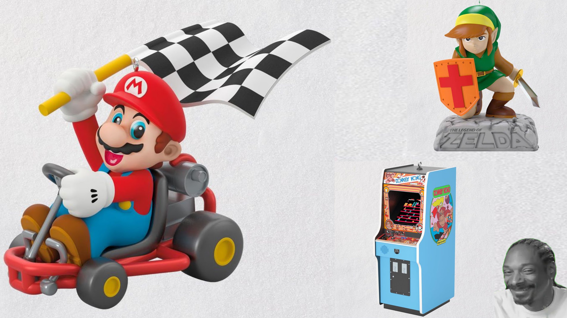 Hallmark will be selling some classic gaming ornaments this holiday screenshot