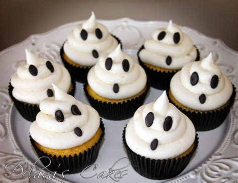 Delana's Cakes: Spooky cupcakes