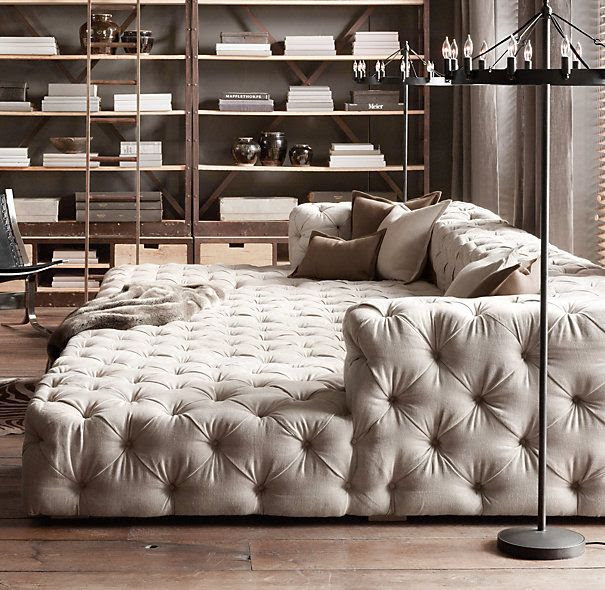 Lazy Couch...Perfect for a family room!