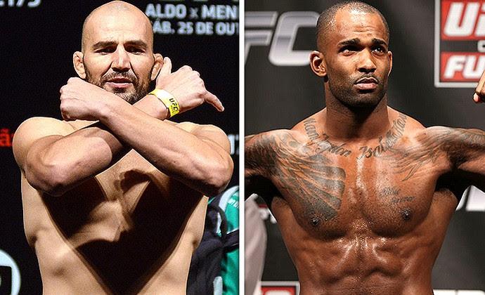 Montagem Glover e Jimi UFC  (Foto: Editoria de arte)