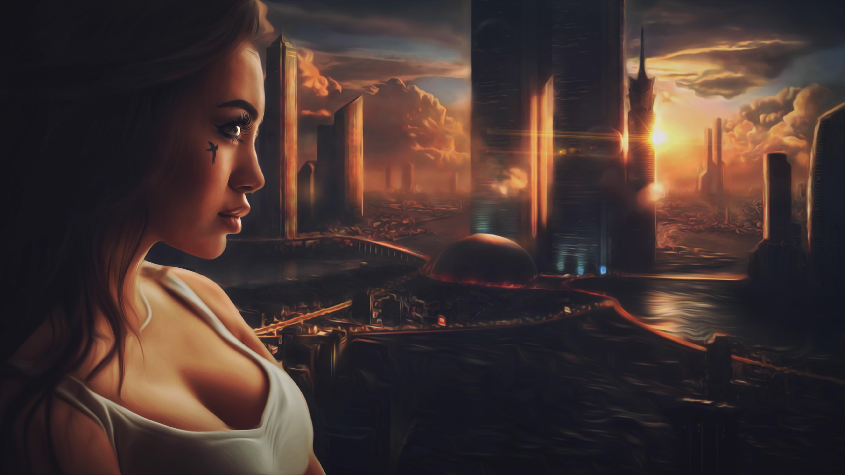 Beautiful Sci Fi Girl Wallpapers Hd Wallpapers