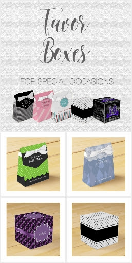 Favor Boxes for Special Occasions