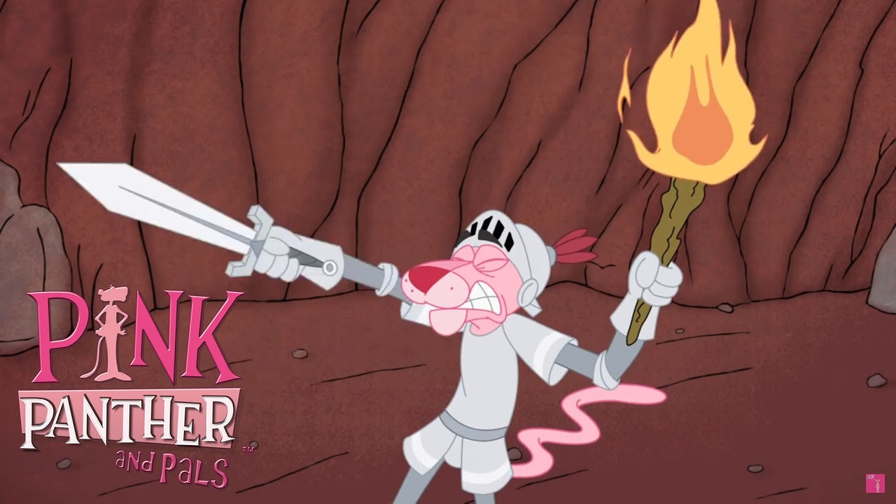 Sir Pink Panther vs. Dragon! | 35 Min Compilation | Pink Panther and Pals - Panthers vs Knights