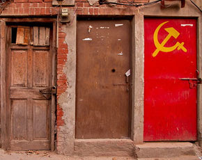 Backdoor of the Communist Party office in Lahore. -Photo by Malik Usman