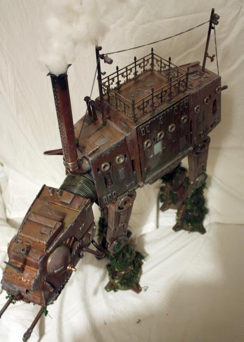 Steampunk Tendencies | Captain Bayley's Infernal Mechano-Perambulator