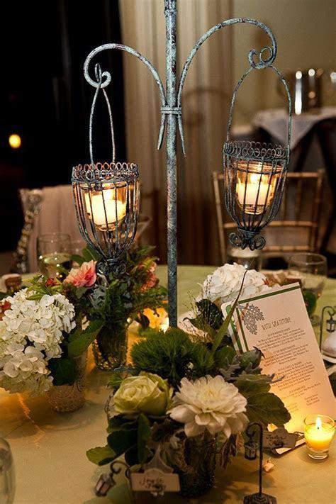Art Nouveau Lantern Centerpiece   Wedding ideas   Lantern