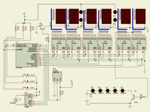 Pic16f628 Pic cơ bản với mạch đồng hồ nhiệt kế