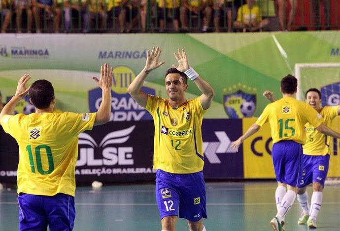Falcão futsal brasil irã grand prix (Foto: Zerosa Filho/CBFS)