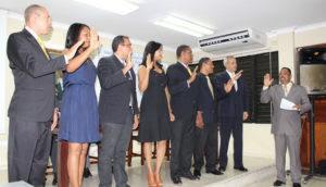 SNTP Santiago juramenta nueva directiva y reconoce trabajadores de la prensa en su día