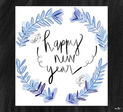 Happy New Year Fancy Painted. Free Happy New Year eCards