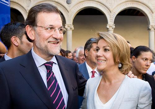 Mariano Rajoy y Mª Dolores de Cospedal