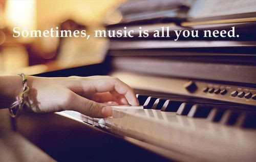 Sometimes, music is all you need.