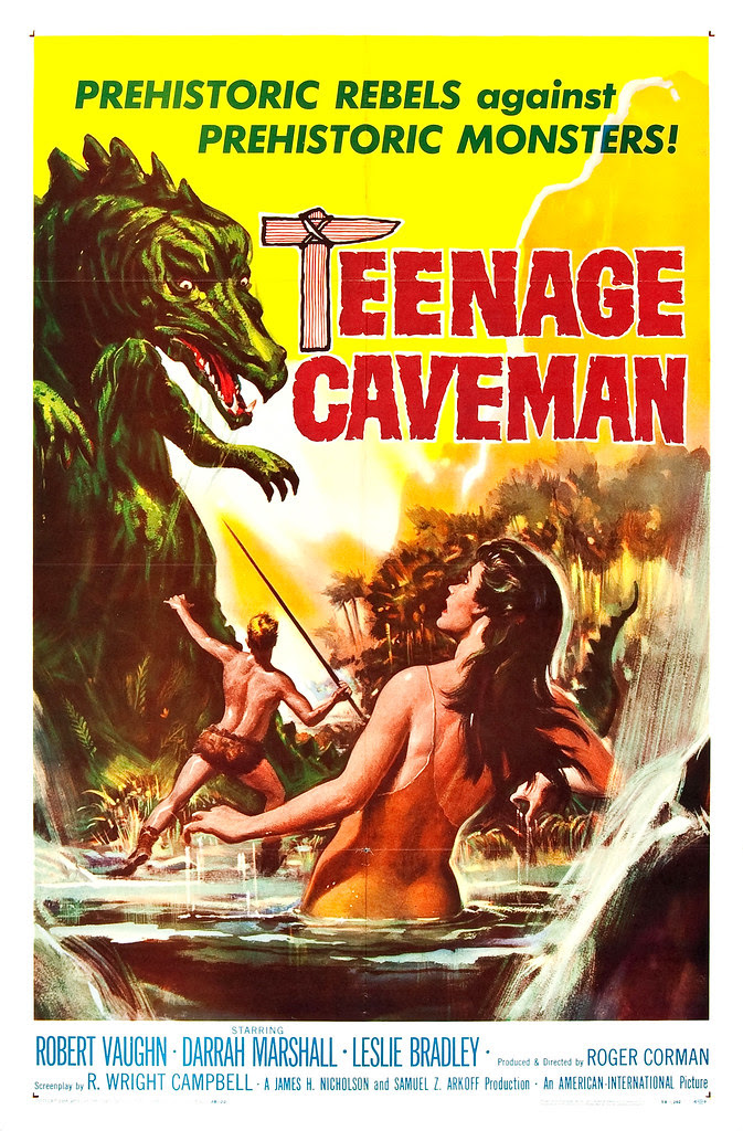 Reynold Brown - Teenage Caveman (American International, 1958)