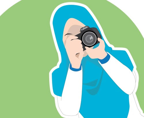 45 Gambar Kartun Muslimah Fotografi Gratis