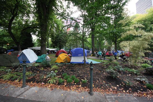 #OccupyPortland, 10/7/2011