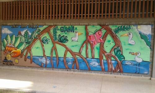 Murales Ambientales Famiempresas Actuar Por Bolivar