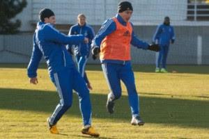 Динамо готовится к Ворскле