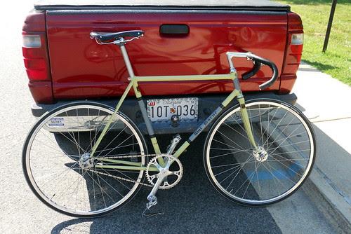 Abel Borne track bike