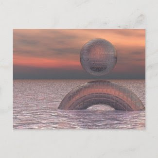 Techno Calm Post Cards