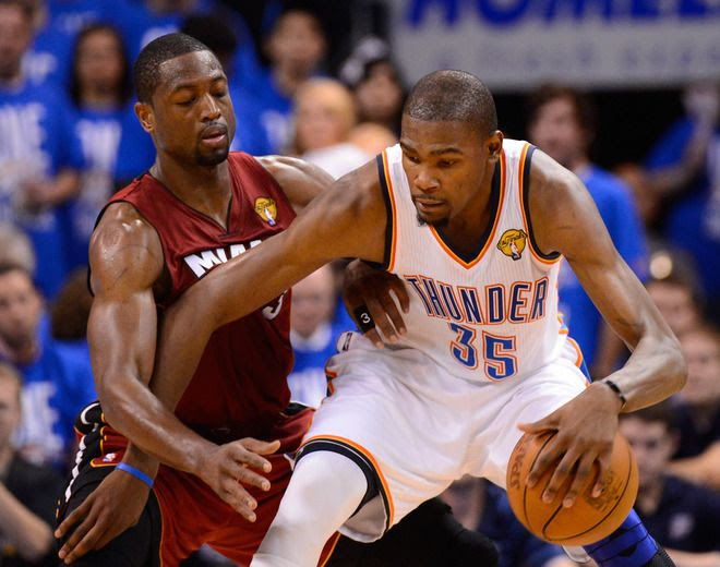 NBA Finals, Game 1, Kevin Durant