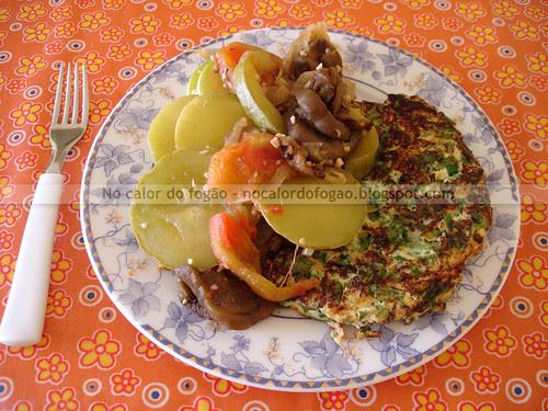 Ratatouille com omelete