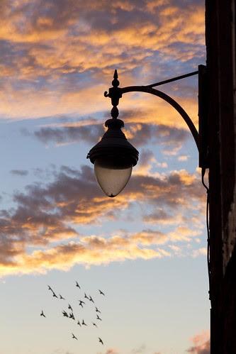 Not lit yet. by Kilrymont Ian