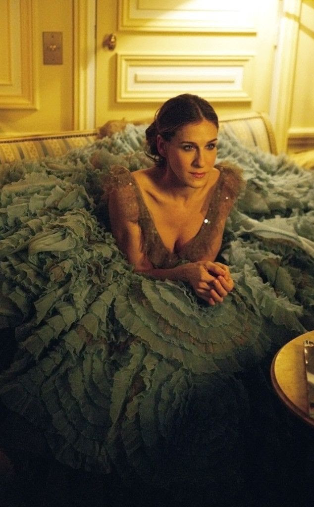 Belle of the Ball from Carrie Bradshaw's Best Outfits   E! Online