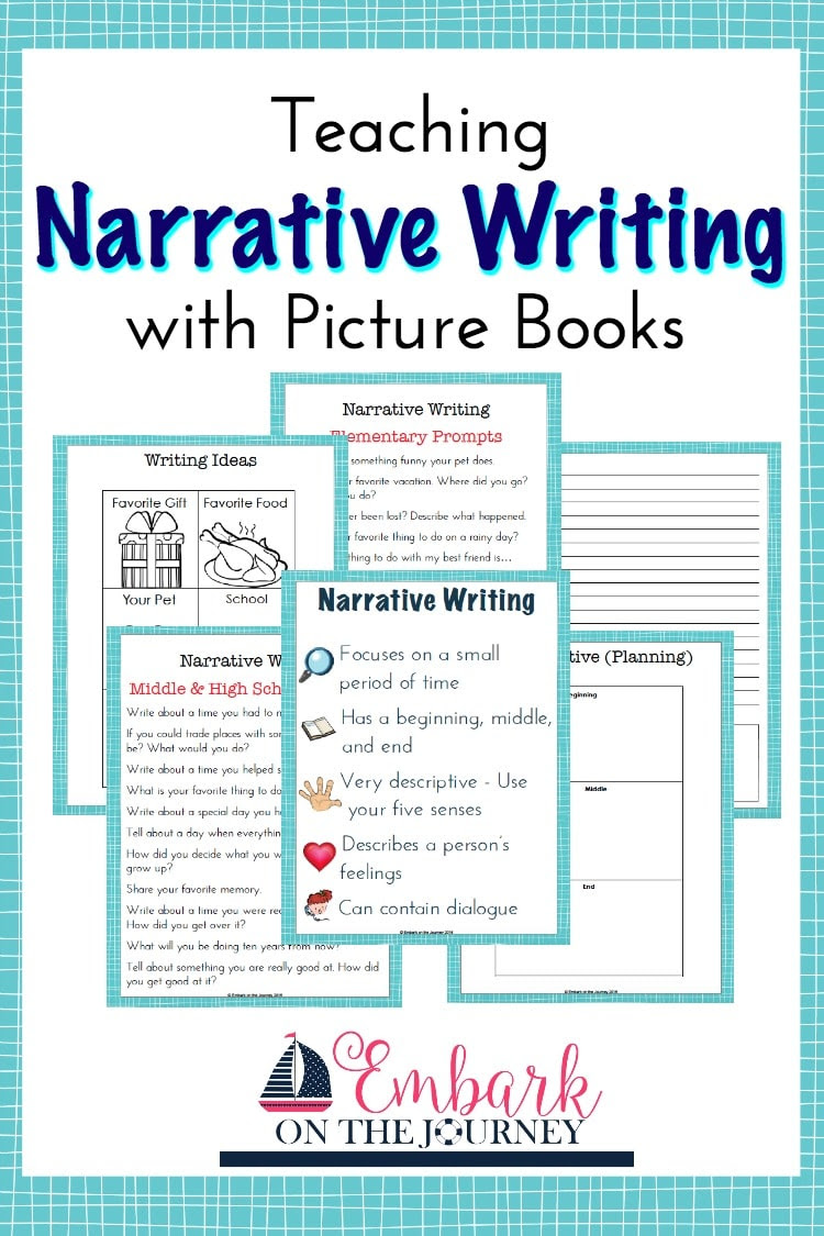 how to write a narrative essay for middle school