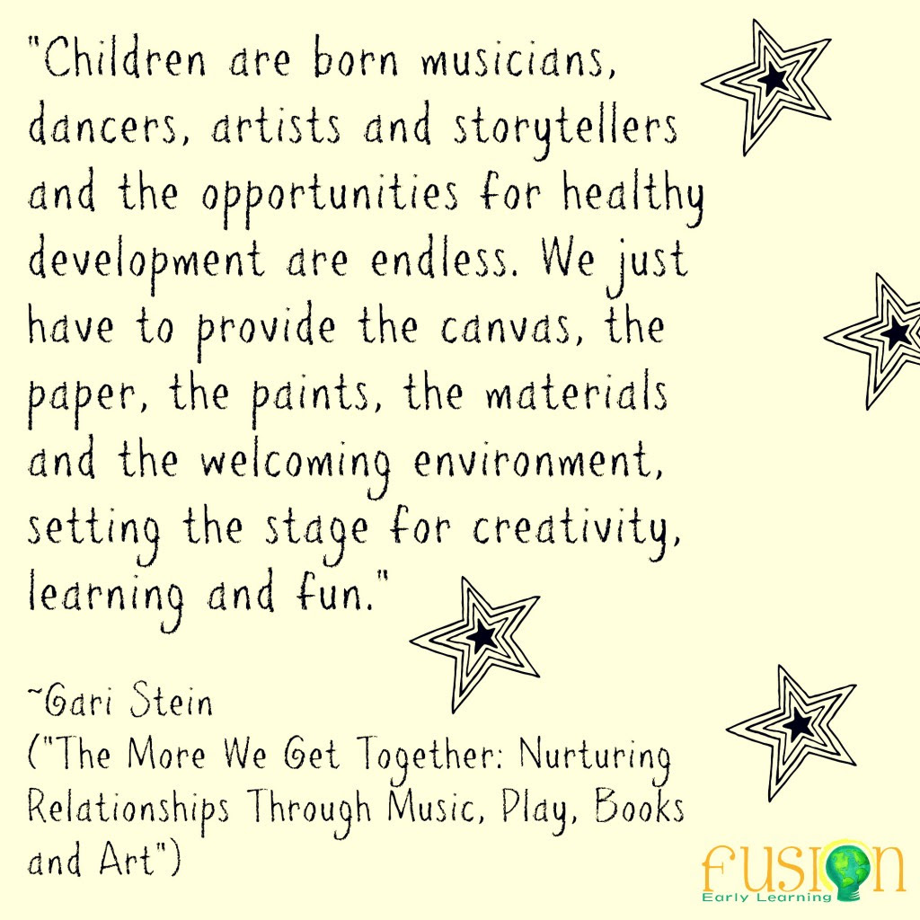 Quote for today\u2026  Fusion Early Learning Preschools