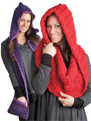 Hooded Scarf & Cowl - Electronic Download