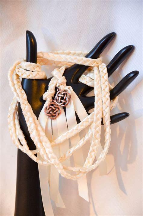 Celtic Knot Wedding Hand Fasting/ Binding Cord v2 ~Ivory