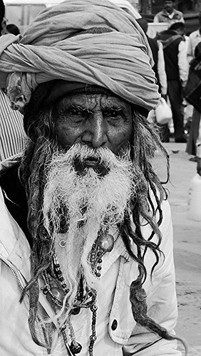 The Sadhus At Maha Kumbh by firoze shakir photographerno1