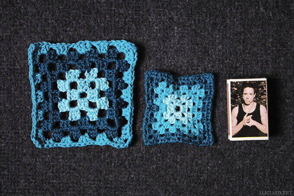 Dumbledoreprojekt 1.2, aliciasivert, alicia sivertsson, handicraft, craft, crochet, granny square, granny squares, mormorsrutor, virka, virkning, dumbledorefilt