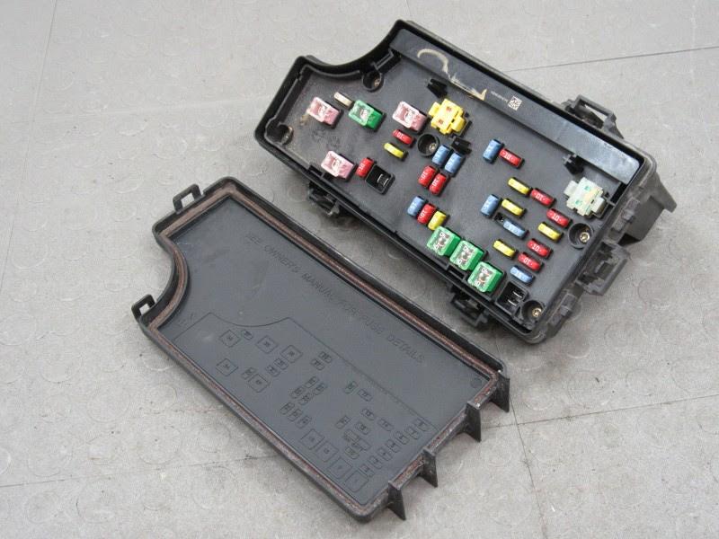 07 Jeep Patriot Fuse Box Location