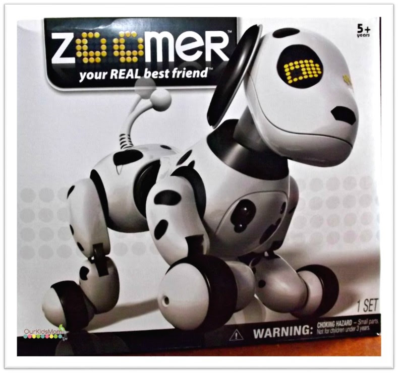 Zoomer robot dog toys r us uk
