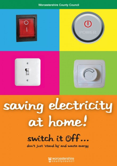 Remember to switch off the mains button after using any electric device.