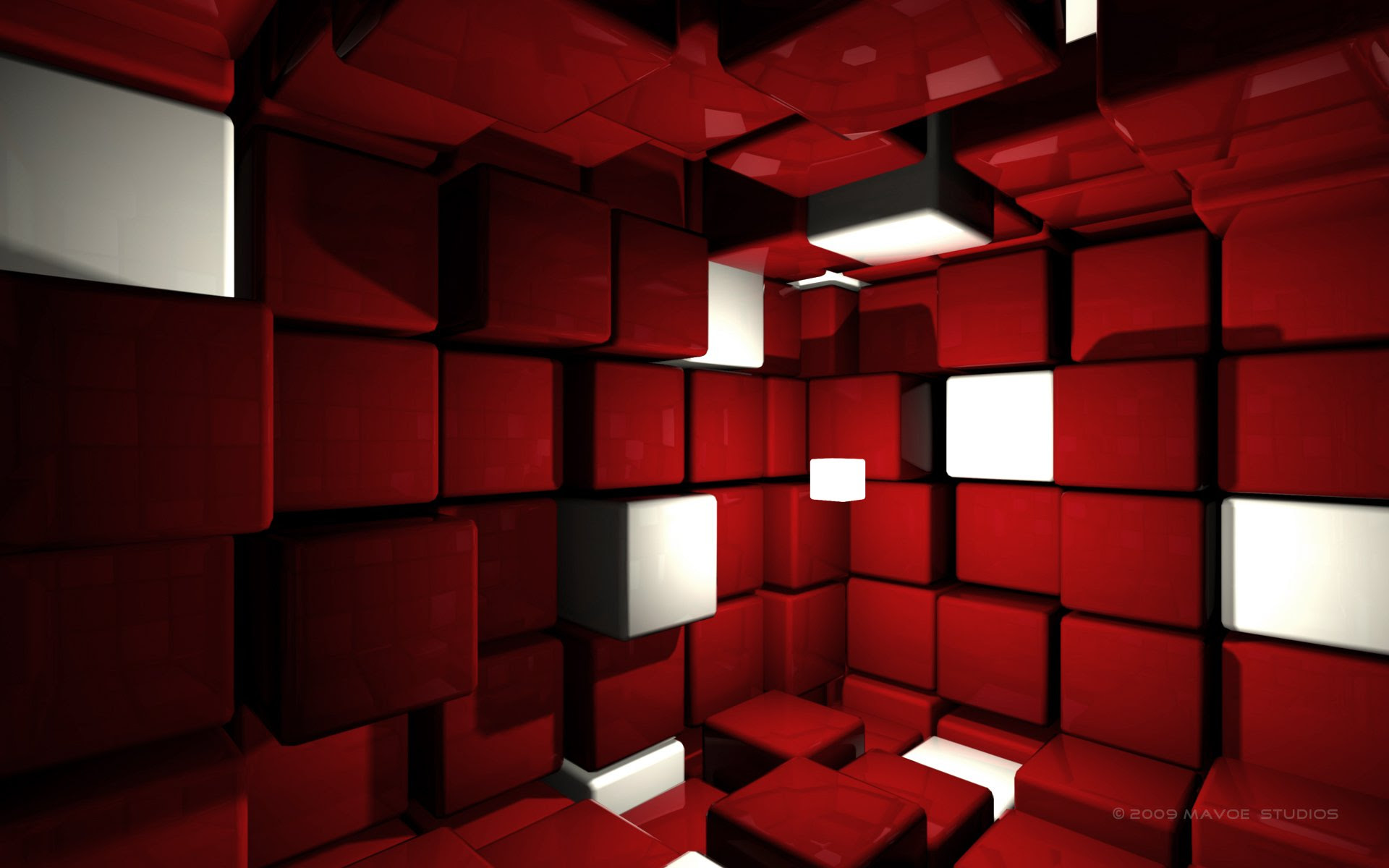 7000 Wallpaper 3d Red HD Paling Baru