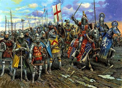 medieval wars  battle  agincourt  learning history