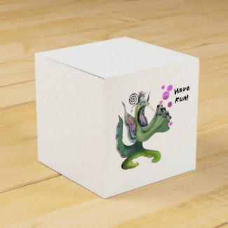 Graphic Designer Rebecca Lea Classic Favor Box