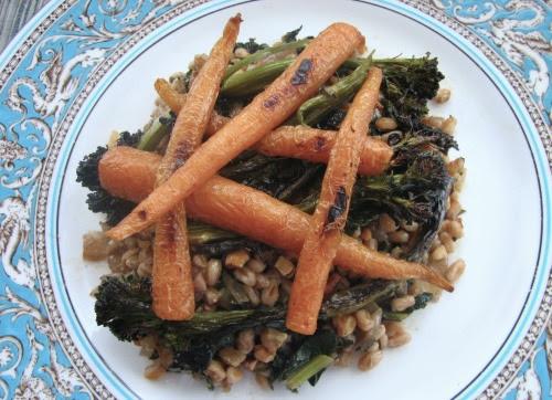 Farro & Winter Vegetables