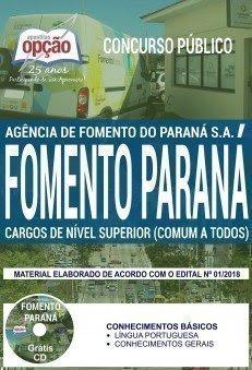 Apostila fomenta Paraná CARGOS DE NÍVEL SUPERIOR (COMUM A TODOS)