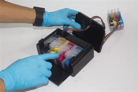 sistema continuo caja lujo epson xp    tinta