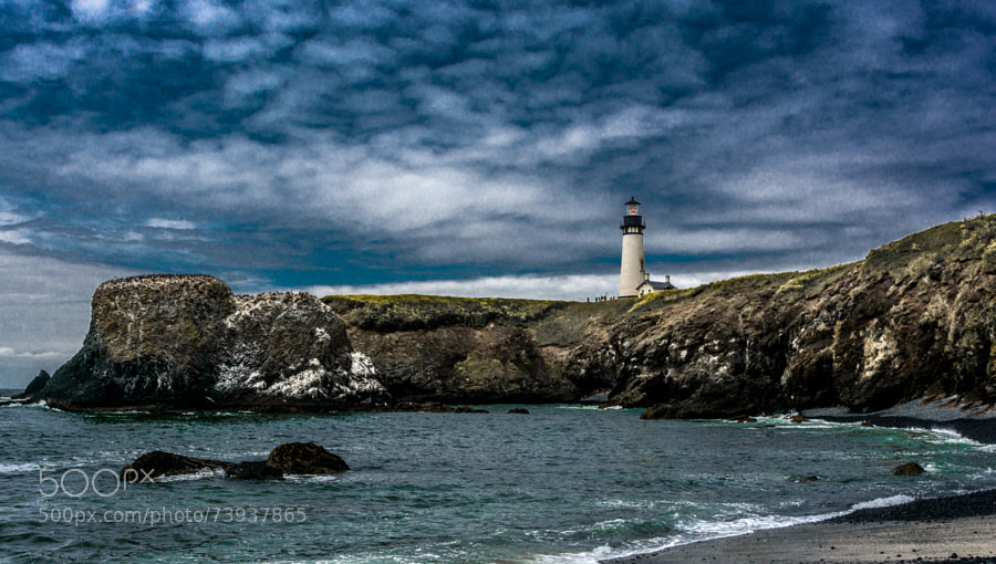 Photograph Yaquina Head Lighthouse, Oregon by Jeffrey Green on 500px
