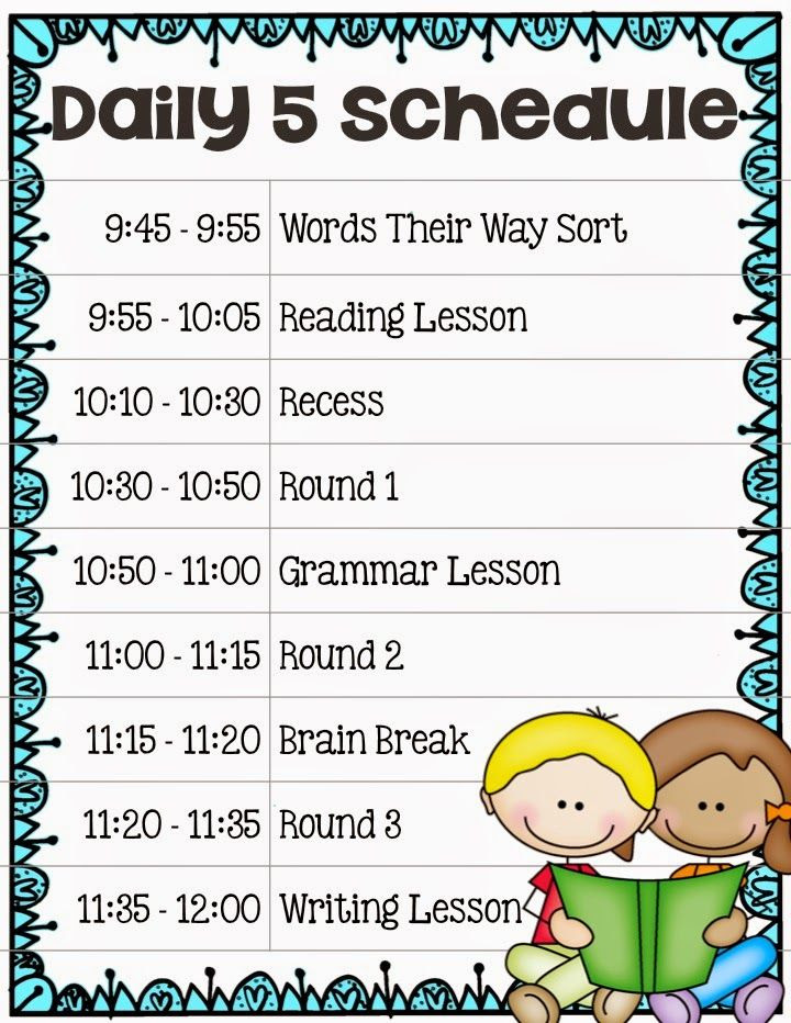1000+ ideas about Daily 5 Schedule on Pinterest | Daily 5, Daily 5 ...