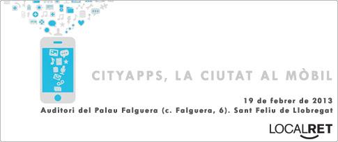 Jornada CityApps, la ciutat al mòbil