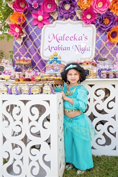 Kara's Party Ideas Princess Jasmine Inspired Arabian